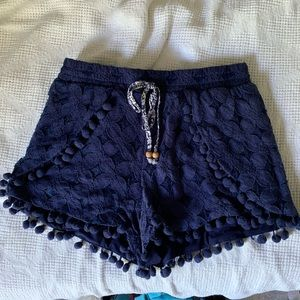**SOLD** Flowy blue shorts